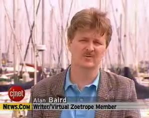 Alan C. Baird, during «Coppola´s Zoetrope» CNBC\c|net TV interview.