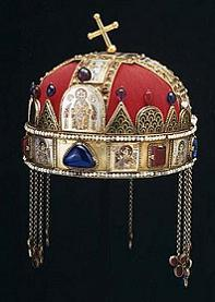 Crown of St. Istvn (975-1038) - click for blog posting